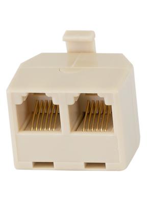 - 126-1-3(R) - Modular-T-adapter 3x RJ12 m/f/f 1:1 unshielded, 126-1-3(R)