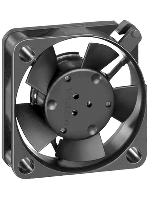 EBM-Papst - 255H - Axial fan DC 25 x 25 x 8 mm 4 m3/h 5 VDC 0.6 W, 255H, EBM-Papst
