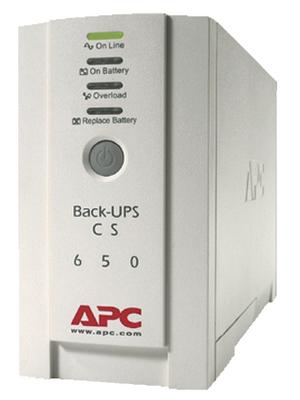 APC - BK650EI - Back-UPS CS 650 VA 400 W, BK650EI, APC