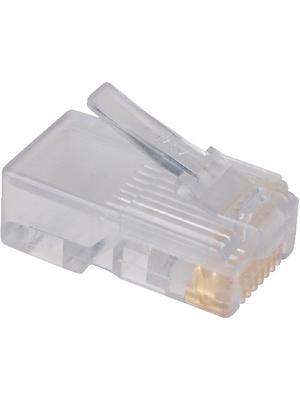 DDK - 285D-1880P-108 - RJ45 plug transparent, 285D-1880P-108, DDK