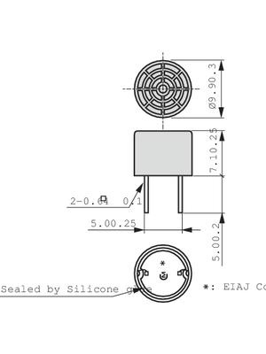 Murata - MA40S4R - Ultrasonic Sensor, MA40S4R, Murata