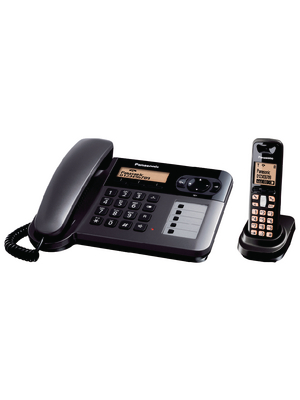Panasonic - KX-TG6451GT - Desk Phone with Cordless Handset, KX-TG6451GT, Panasonic