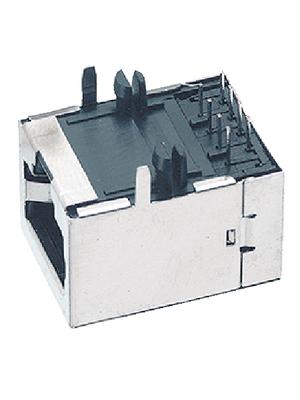 DDK - S296N-8P8C30TBK - RJ45 PCB socket, S296N-8P8C30TBK, DDK