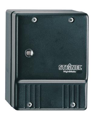Steinel - NIGHTMATIC 3000 WHITE - Twilight switch white 230 VAC 5...10 Lux IP 54, NIGHTMATIC 3000 WHITE, Steinel