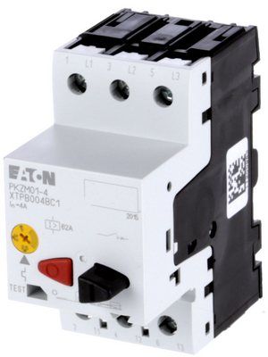 Eaton - PKZM01-4 - Protective motor switch 2.5...4.0 A IP 20, PKZM01-4, Eaton
