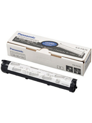 Panasonic - KX-FA76X - Toner black, KX-FA76X, Panasonic