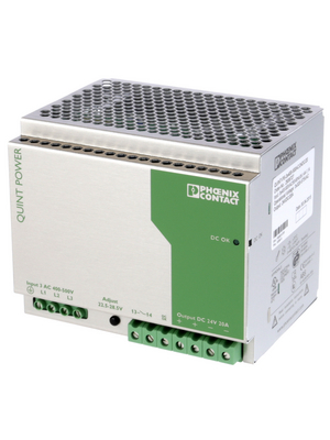Phoenix Contact - QUINT-PS-3X400-500AC/24DC/20 - Switched-mode power supply / 20 A, QUINT-PS-3X400-500AC/24DC/20, Phoenix Contact