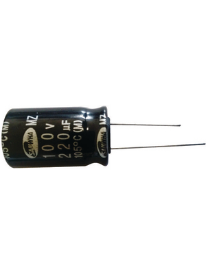 YAGEO - SH050M0100A3S-0811 - Aluminium Electrolytic Capacitor 100 uF 50 VDC PU=Pack of 1000 pieces, SH050M0100A3S-0811, YAGEO