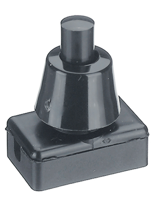 No Brand - 368/8 - Push-button Switch Latching function black, 368/8, No Brand