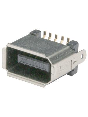 3M - 36110-1110PL - Plug, SMD 10P, 36110-1110PL, 3M