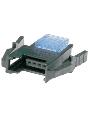 3M - 37303-A165-0PE MB - Cable socket, blue Pitch2 mm Poles 3 Contact DesignFemale Mini-Clamp, 37303-A165-0PE MB, 3M