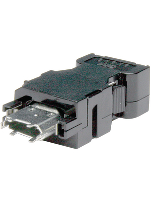 3M - 3E306-3200-008 - Hood for cable socket IEEE1394P, 3E306-3200-008, 3M