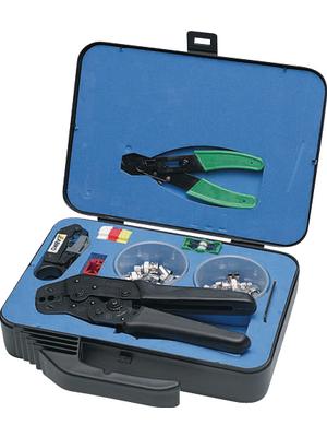 Abiko - KIT-1113C - Set of crimping pliers for BNC/RG58, 59, 62, 71 Coax, BNC RG58, RG59, RG62, RG71, KIT-1113C, Abiko