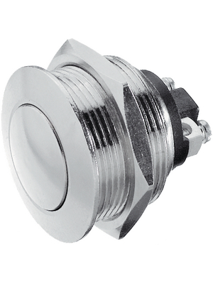 Apem - AV021003C900E - Push-button Switch, vandal proof 22.2 mm 48 VDC 2 A 1 make contact (NO), AV021003C900E, Apem