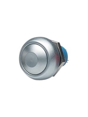 Apem - IPR3SADA100 - Push-button Switch off-(on) chrome-plated matte, IPR3SADA100, Apem