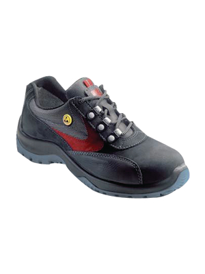 - ESD 4030 PLUS - ESD safety shoes Size=35 anthracite/red Pair, ESD 4030 PLUS