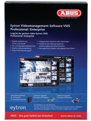 Abus - TV3200 - VMS Professional Video Software, TV3200, Abus