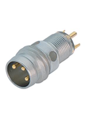 Binder - 09-3413-00-03 - Panel-mount plug, 768 series 3-pole M8, 09-3413-00-03, Binder