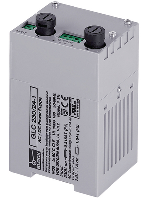 Block - GLC 230/24-2 - DC power supply 24 VDC 2 A, GLC 230/24-2, Block