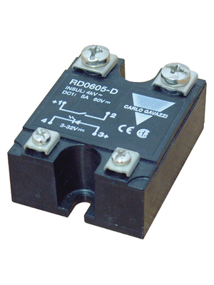 Carlo Gavazzi - RD0605-D - Solid state relay single phase 3...32 VDC, RD0605-D, Carlo Gavazzi