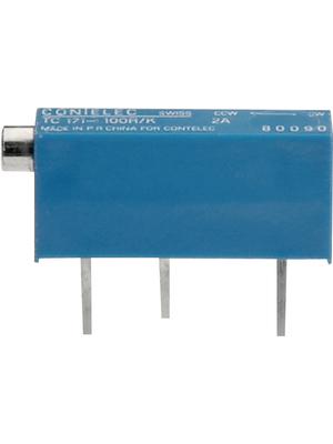 Contelec - 80097 - Trimmer Cermet 20 kOhm linear 750 mW, 80097, Contelec