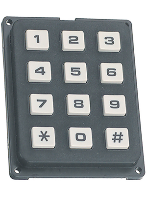 Secme - ECO 16250 06 - Keypad 16-element keyboard, ECO 16250 06, Secme