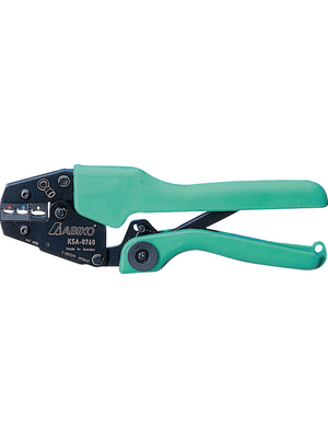 Abiko - KSA-0760 - Crimping pliers for insulated cable lugs Insulated cable lugs 520 g 0.75...6 mm2, KSA-0760, Abiko