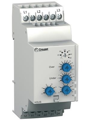 Crouzet - H3US - Voltage monitoring relay, H3US, Crouzet