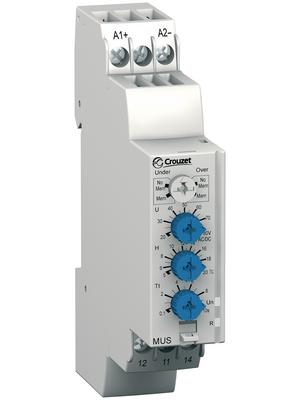 Crouzet - MUS80 - Voltage monitoring relay, MUS80, Crouzet