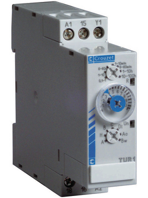 Crouzet - TU2R3 - Time lag relay Multifunction, TU2R3, Crouzet