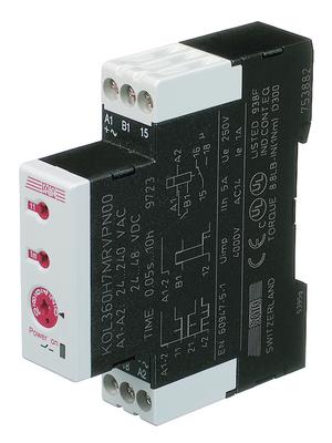 Saia Burgess Controls - KOL311H7MRVPN00 - Time lag relay Delayed operation, KOL311H7MRVPN00, Saia Burgess Controls