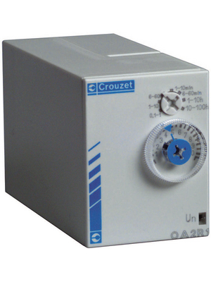 Crouzet - PA2R1 - Time lag relay Delayed operation, PA2R1, Crouzet