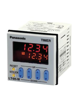 Panasonic - LT4HW240ACSJ - Twin timer relay Clock generator, LT4HW240ACSJ, Panasonic