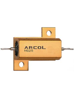 Arcol - HS25 8R2 F - Wirewound resistor 8.2 Ohm 25 W  ±  1 %, HS25 8R2 F, Arcol