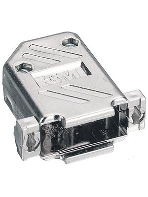 3M - 3357-6515-1C - D-Sub metallized hood 15P, 3357-6515-1C, 3M