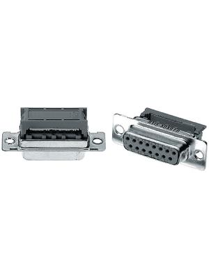 3M - 8315-6009 - D-sub socket 15P, Female, 8315-6009, 3M