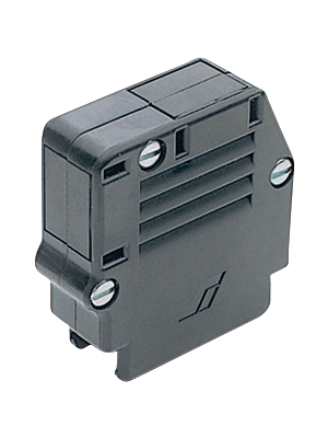 Amphenol/FCI - 8630-93C-09ALF - D-Sub plastic hood 9P, 8630-93C-09ALF, Amphenol/FCI