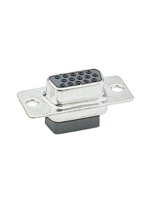 - 91-1-10(R) - D-Sub socket HD 62P, 91-1-10(R)