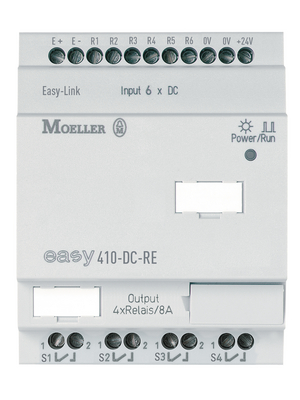 Eaton - EASY411-DC-ME - Expansion module EASY, 3 DI (2 D/A), 2 AI (2 x 0...20 mA, 2 x Pt100), 3 TO, EASY411-DC-ME, Eaton