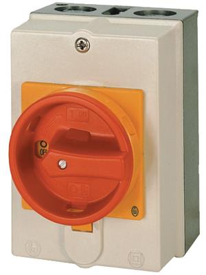 Eaton - P1-32/I2/SVB - EMERGENCY STOP main switch 15 kW Switch positions 2 Poles 3, P1-32/I2/SVB, Eaton