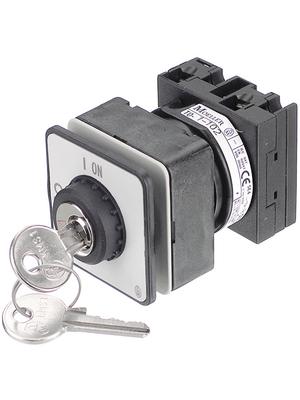 Eaton - T0-1-102/EZ/S - Control switch 6.5 kW 6 A Switch positions 2, T0-1-102/EZ/S, Eaton