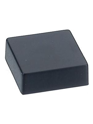 Eledis - 5AC5-2 - Cap 11.6 x 11.6 mm black, 5AC5-2, Eledis