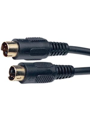 - AC242G-2M/BK-R - Video cable 2.00 m black, AC242G-2M/BK-R