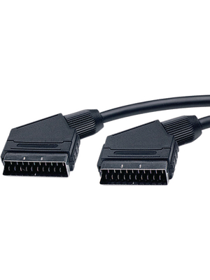 - SC8B-1.8M/BK-R - Video cable 1.80 m black, SC8B-1.8M/BK-R