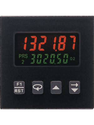Red Lion - C48CD102 - Present counter 2 x 6 digit LCD 11.5 kHz Pulse signals up to max. 8 V 85...250 VAC, 11...14 VDC, C48CD102, Red Lion