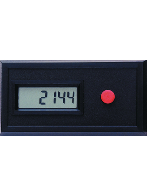 Red Lion - CUB30000 - Summation counter 6-digit LCD 100 Hz Pulses via potential-free contact or open collector Batterie, CUB30000, Red Lion