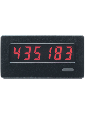 Red Lion - CUB4L000 - Summation counter 6-digit LCD 50 Hz / 5 kHz High-speed counting input: 5 kHz, 4 - 28 V, bipolar input, low-speed: pulses via potential-free contact or open collector Lithium Batterie, CUB4L000, Red Lion