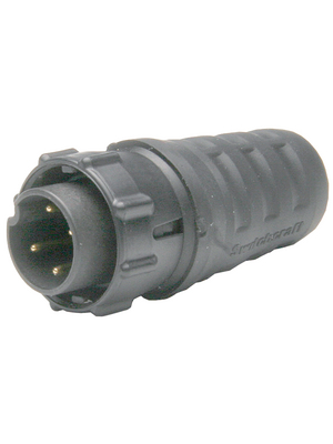 Switchcraft - EN3C2M - Cable plug EN3, 2-pin Poles 2, EN3C2M, Switchcraft