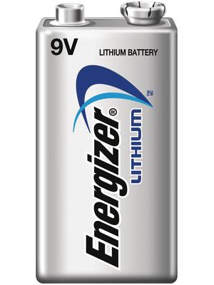 Energizer - LITHIUM 9V /B1 - Primary Lithium-Battery 9 V 6AM6/9V, LITHIUM 9V /B1, Energizer