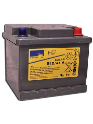 Exide - S12/6,6 S - Lead-acid battery 12 V 6.6 Ah, S12/6,6 S, Exide